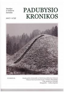 Padubysio kronikosi 2017 Nr.2(9) viršelis